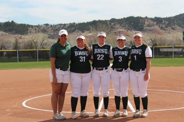 BHSU Softball Senior Day