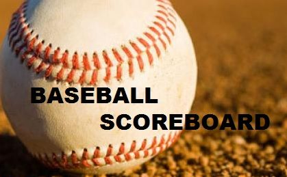 Tuesday Night Baseball Scoreboard