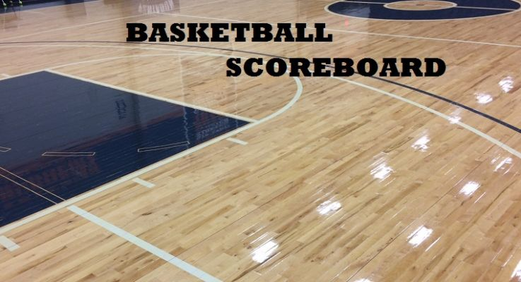 Basketball Scoreboard, February 15