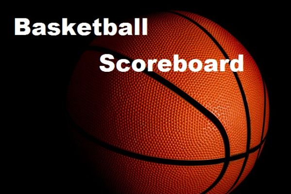 Basketball Scoreboard, February 14