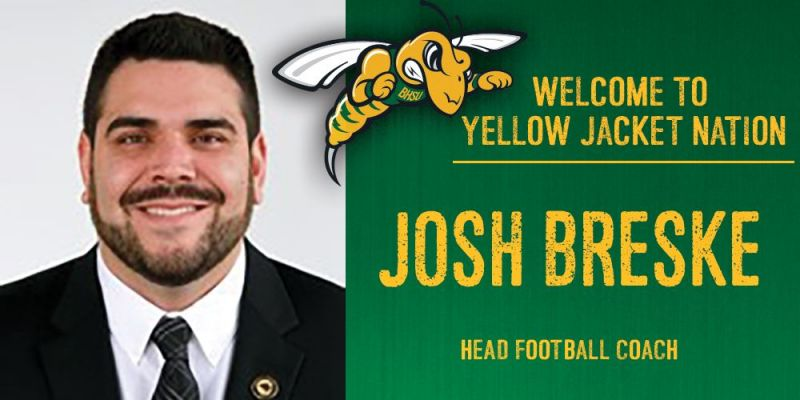 Breske named new head football coach