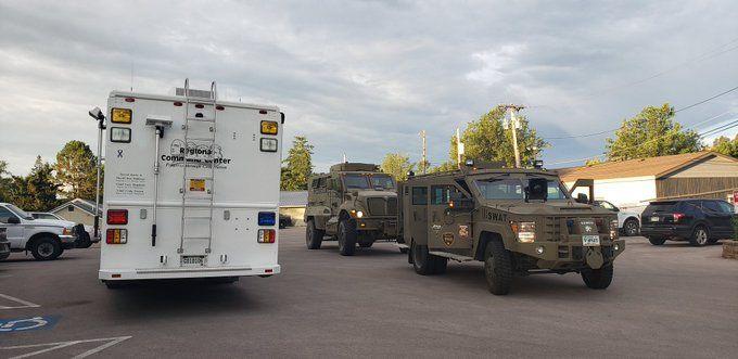 The Special Response Team was called in Friday for a standoff with an 18-year-old suspect in Rapid City Friday morning.
