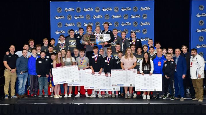 Canton wins team championship at State B Wrestling.