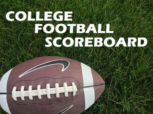 College Football Scoreboard, October 24
