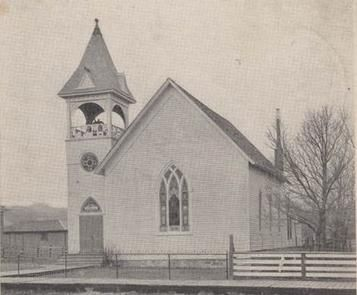 The First Presbyterian Church was built in 1887 in Sturgis.