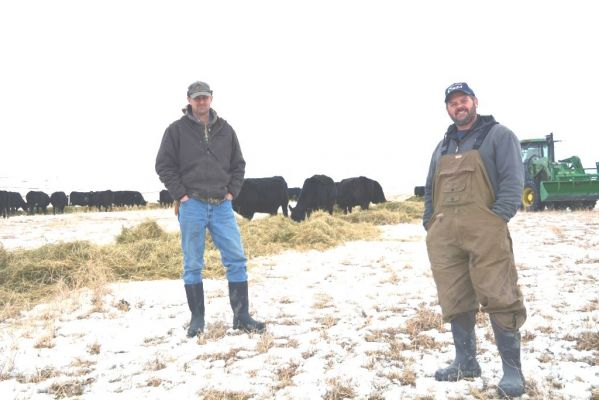 George and Brett Kenzy are brothers and fourth-generation cattle producers near Gregory, SD.