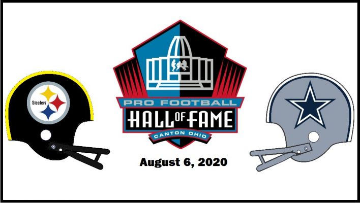 Hall of Fame Game for 2020 set.