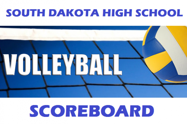 Volleyball Scoreboard for Saturday, August 31