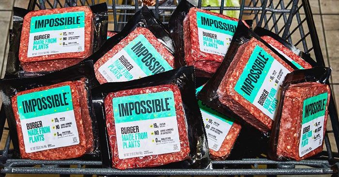 """Impossible Foods says consumers are """"crystal clear"""" on what's in �"""" and not in �"""" its products, which don't feature the word """"meat."""""""