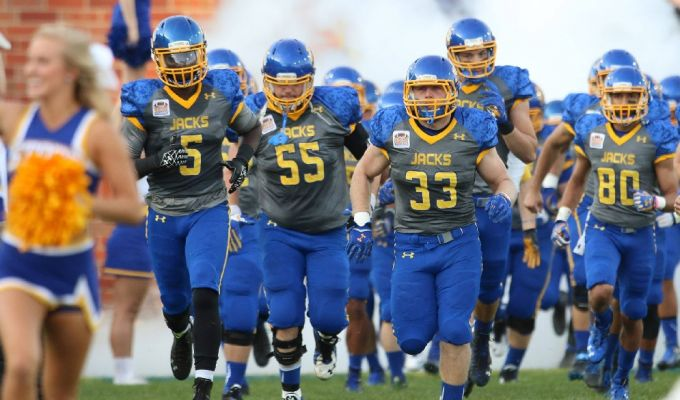 Jackrabbit football.