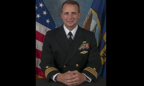 A South Dakota native has taken command of the Navy's newest warship
