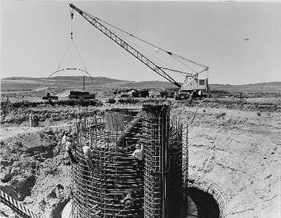This is an under-construction launch control facility in South Dakota. Ground was broken for South Dakota's missile field Sept. 11, 1961. All of the 150 launch facilities (missile silos) and 15 launch control facilities were manned and ready by 1963.