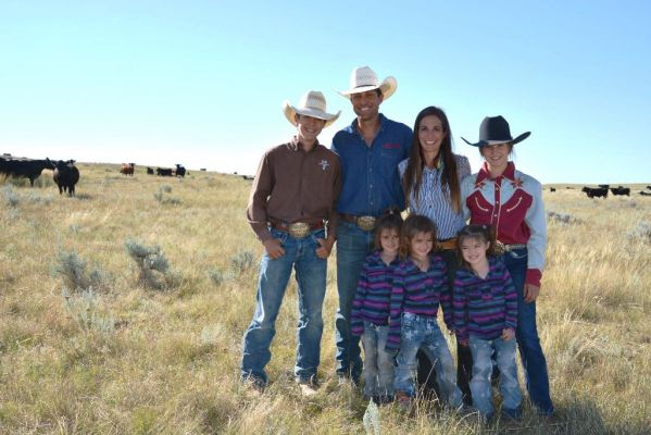 The Routier family, Riley and Jessica along with son, Braden, 14; and daughters: Payton, 12; Rose, 5; Rayna, 5; and Charlie, 4.