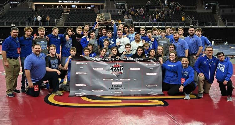 Rapid City Stevens win State A Dual Championship