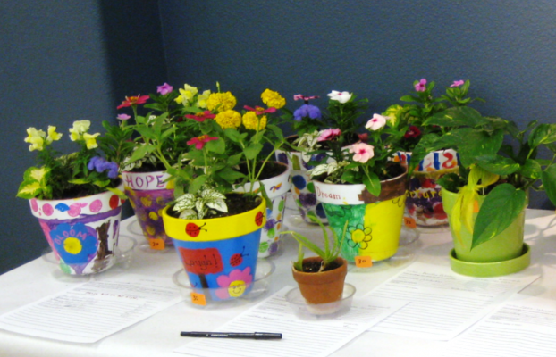 Silent bids are being taken on plants donated by community members to the annual fundraiser for the Sturgis Public Library. Bidding ends Fri., May 11, 2018 at 4:30pm.