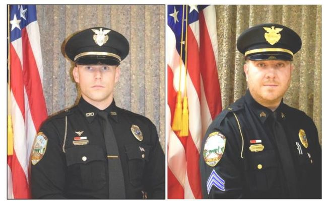 Dylan Goetsch and Christoper Schmoker of the Sturgis Police Department have been awarded the highest honor for civilian heroism.