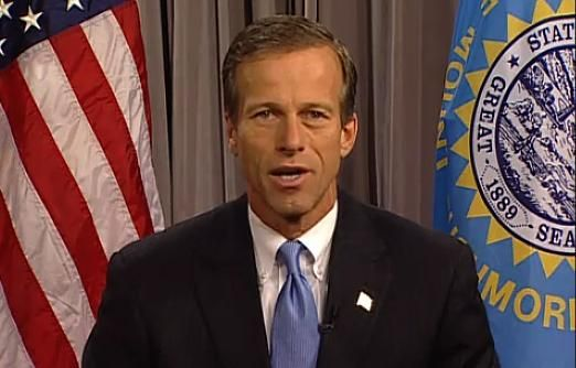 Thune comdemns yesterday's riots in Washington.