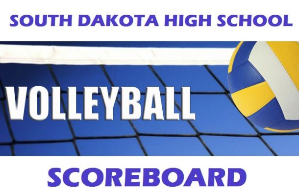 Volleyball Scoreboard, October 3rd