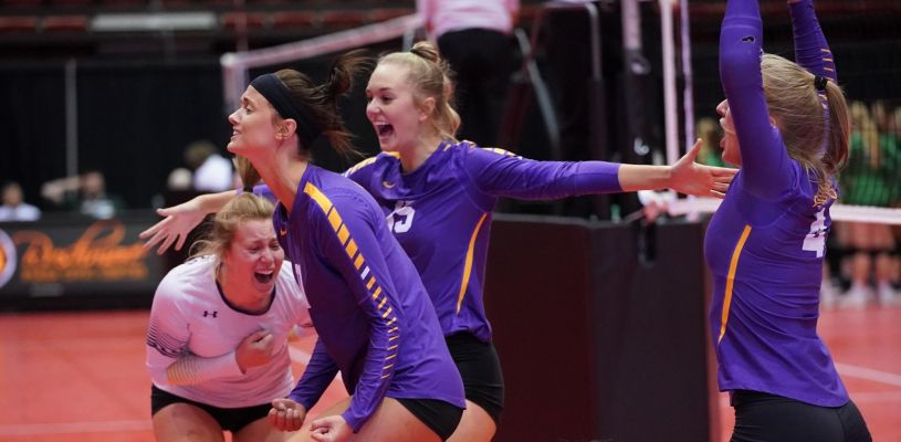 State Volleyball Tournament Semifinals and Consolation