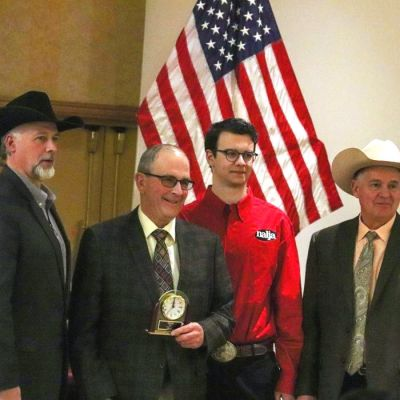 Industry leader Wulf Cattle was named the NALF Promoter of the Year.