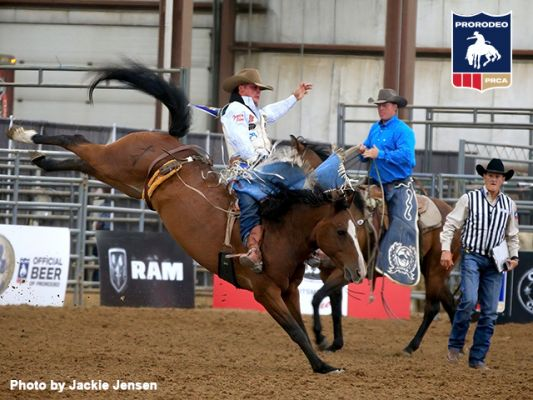 He's got the name, and he's determined to win the title that goes with it.  After his performance Sept. 23, bareback rider Richmond Champion took the lead in the average at the 2020 Gold Buckle Beer ProRodeo Tour Finale in Rapid City, S.D., while sear